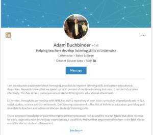 Scrivere esempi di profili di appuntamenti