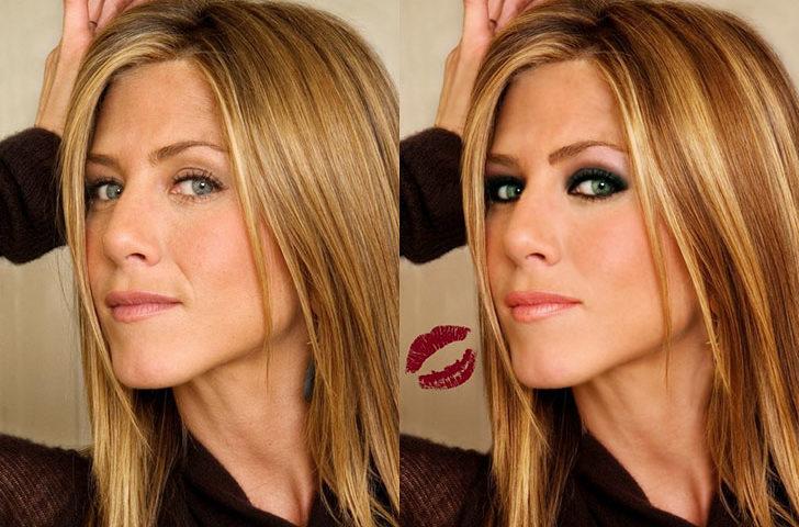 Ritocco da star: Photoshop vip prima e dopo.